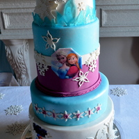 Disney Frozen Birthday Cake Disney Frozen Birthday Cake