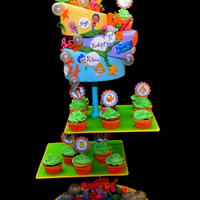 Bubble Guppies Cake And Cupcakes Bubble Guppies Cake and Cupcakes