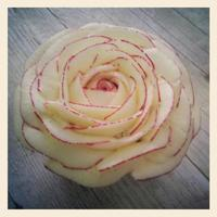 Rose Cupcake With Buttercream Rose cupcake piped with buttercream