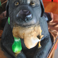 Groom Is A Duck Hunter And This Is A Likeness Of His Dog Groom is a duck hunter and this is a likeness of his dog :)