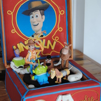 Toy Story Cake Toy story cake. All edible.