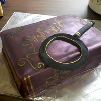 Book Cake   Book cake made for my grandfather's bday. One of my first cakes but thought I would share anyway.