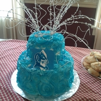 Blue Devil Cake Blue Devil cake made for my husband's grandmother.