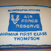 Air Force Reserve Cake