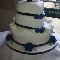 Navy & White Wedding