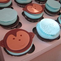 Monkey Baby Shower Cuppies