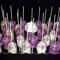 First Attempt At Cake Pops