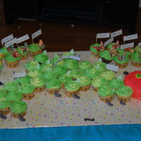 """the Very Hungry Caterpillar"" Cake And Butterfly Cupcakes My daughter's preschool graduation theme was based on Eric Carle's book ""The Very Hungry Caterpillar."" I made the..."