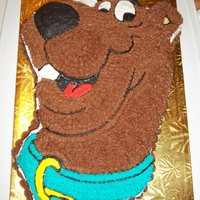 Character Cakes   White cake with chocolate buttercream. As requested by Sabrina for Sam's birthday.
