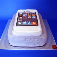 Iphone White Cake