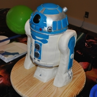 R2D2 Cake For Lego Star Wars Party