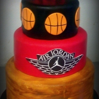 Air Jordan Baby Shower Cake Thanks for looking! :)