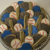 Baseball Cookies Made some baseball cookies for work tomorrow to celebrate opening day :)