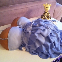 Baby Belly Cake another baby belly cake