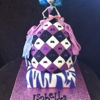 Monster High my daughters 6th birthday cake....Monster High