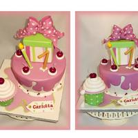 Minnie Dripping Icing Cake For Carlotta   Minnie Dripping icing cake for Carlotta