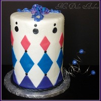 Diamond Tall Cake