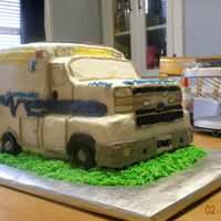 Rescue Squad Cake Modeled Off The Squad Run By The Individual The Cake Was For Cake Is All Buttercream And Freehand Details Wheels Are Lit... Rescue squad cake modeled off the squad run by the individual the cake was for. Cake is all buttercream and freehand details. Wheels are...