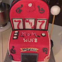 Slot Machine Birthday Cake Slot Machine Birthday cake