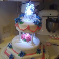 My First Wedding Cake my youngest daughter wedding cake