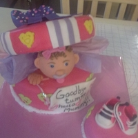 Play Of Pick-A-Boo Cake daughter baby shower cake. I would like to thank lesley for the great information on this cake and to all the others here on cake central...