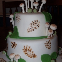 Woodland Cake My take on the Martha Stewart cake. Also inspired by EBcakes here on CC.This was for a 1st birthday party. They had a fairy/fantasy...