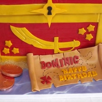 Jake And The Neverland Pirates Treasure Chest Cake