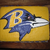 Ravens Strawberry Lemon Cake Made for my hubby for the Ravens going into play offs, for good luck. The cake is strawberry and lemon cake layers with strawberry cream...