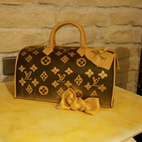 Louis Vuitton Speedy30 For the 30. Birthday of a fashionista.