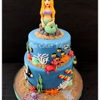 "This Mermaid Cake Was So Much Fun To Make This Is The 1St Time I Have Attempted A Realistic Person I Am Pretty Happy With Her But Do Hav This Mermaid cake was so much fun to make. This is the 1st time I have attempted a ""realistic"" person. I am pretty happy with her..."