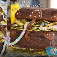 Treasure Chest Her is the bithday cake my son wanted for his piratethemed birthday party. He and I loved it.