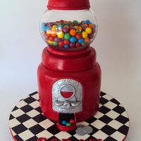 Gumball Machine Only non edible item is the bowl it's Glass