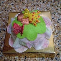 Baby Shower Cupcakes Fairy Themed Baby Shower cupcakes - Fairy Themed.