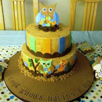 Baby Shower Cake For Jackson