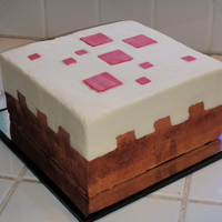 Minecraft Cake Block Cake If items in the computer game Minecraft were translated to real life size, the cake block would be about 3 feet square. This one was only a...