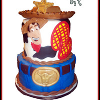 Woody Inspired by fellow Cake Central members!