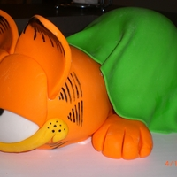 Garfield All cake and fun to make :)