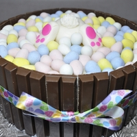 Easter Egg Cake Quick last minute cake