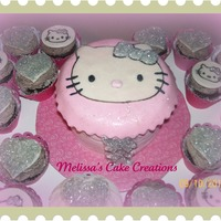 Hello Kitty Hello Kitty cake & cupcakes for a friends daughter (no charge) TFL