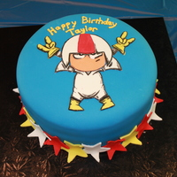 Kick Buttowski Birthday Cake Kick Buttowski birthday cake