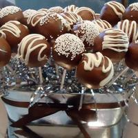 Chocolate Cake Pops Chocolate cake pops
