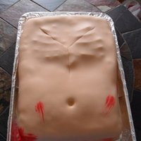 Autopsy Cake Autopsy cake for someone who had just been accepted to school for pathology.