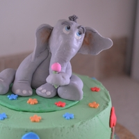 Horton Hears A Who   This was a challenge...Elephants are not easy for me to create...