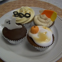 Cupcakes For Halloween Birthday