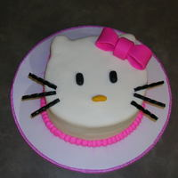 Hello Kitty This is a Hello Kitty I made for a man's wife who loves Hello Kitty. I also made some cupcakes to go along with it. I made a mini...