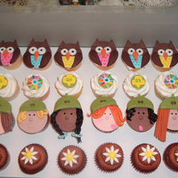Girl Scout Cupcakes!