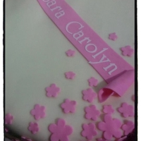 Simple & Pink Cake   Name cutout in Silhouette SD