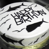 Billfish Birthday Cake   January 2012