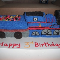 Thomas The Train   3D train pan and a loaf pan