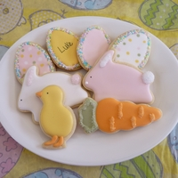 Easter Sugar Cookies Easter sugar cookies